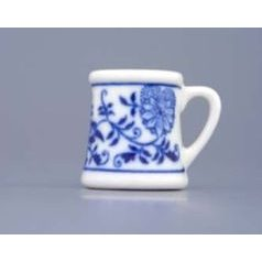 Beer mug mini  3 cm, Original Blue Onion Pattern