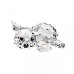 Lying Kitten 17 x 32 mm, Crystal Gifts and Decoration PRECIOSA