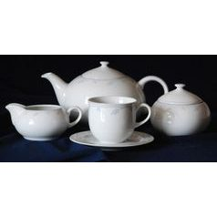 Tea set for 6 persons, Thun 1794 Carlsbad porcelain, OPAL 80215