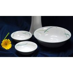 Compot set for 6 persons, Thun 1794 Carlsbad porcelain, OPAL grass