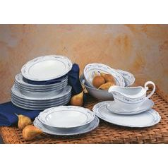 Dining set for 6 persons (16 Pcs), Desiree 44935, Seltmann Porcelain
