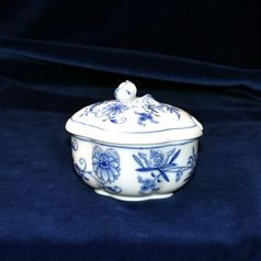 Sugar bowl 11 x 9 cm, Blue Onion, Meissen porcelain