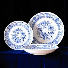 Plate set for 6 persons, Henrietta, Thun 1794 Carlsbad porcelain