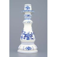 Candle holder 1982 21,5 cm, Original Blue Onion Pattern