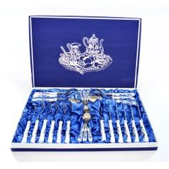 24 pcs. Blue Onion Cutlery dining set in GIFT BOX, Blue Onion Pattern