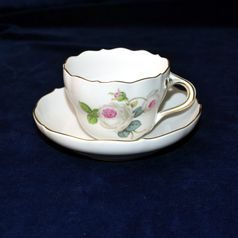 Cup 160 ml  plus  saucer 140 mm, Meissen porcelain