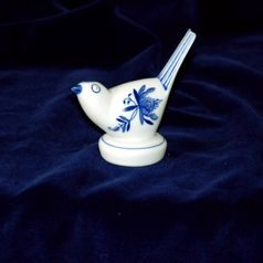 Bird h. 8 cm, Original Blue Onion Pattern