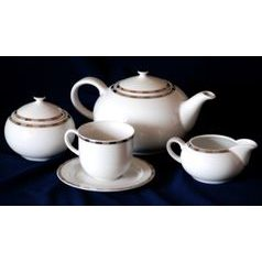 Tea set for 6 persons, Thun 1794 Carlsbad porcelain, OPAL 84032