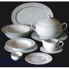 Dining set for 6 persons, Thun 1794 Carlsbad porcelain, OPAL 80215