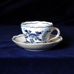 Cup and saucer A/1 plus A/1 0,12 l / 13 cm for coffee, Cesky porcelan a.s.