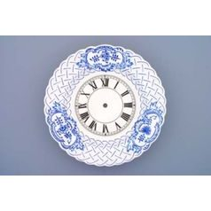 Clocks 27 cm  plus  clockwork, Original Blue Onion Pattern