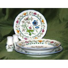 Plate set for 6 persons, NEW! COLOURED ONION PATTERN