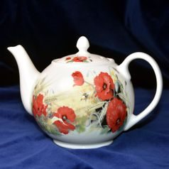 Poppy: Teapot 1,2 l, Roy Kirkham, Fine Bone China