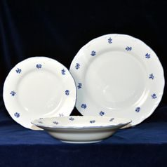 Plate set for 6 pers., Ophelie blue Hazenka, Nová Role Thun