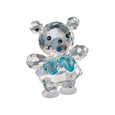 Baby Bear (blue) 34 x 25 mm, Crystal Gifts and Decoration PRECIOSA