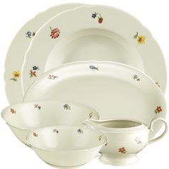 Dining set for 6 persons (16pcs), Marie-Luise 44714, Seltmann Porcelain