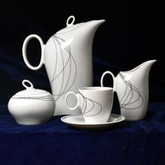 Fututre 30158: Coffee set for 6 pers., Thun 1794 Carlsbad porcelain