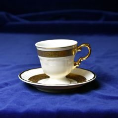 Cup 70 ml espresso + saucer 120 mm, Marie Louise 88003, Thun 1794, Carlsbad porcelain