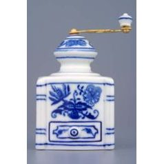 Coffee mill mini 8 cm, Original Blue Onion Pattern