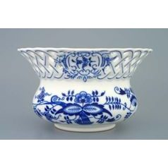 Flower pot perforated 11 cm, Original Blue Onion Pattern