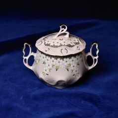 Sugar bowl 0,3 l, Jarmila 245, Rose China