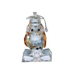 Wise Owl 60 x 35 mm, Crystal Gifts and Decoration PRECIOSA
