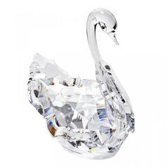 Swan 73 x 68 mm, Crystal Gifts and Decoration PRECIOSA