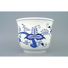 Flower pot 22,0x18,0 cm, Original Blue Onion Pattern
