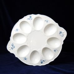 Egg tray with handles 25 cm, Thun 1794 Carlsbad porcelain