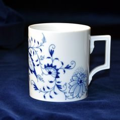 Mug Henkel 89 mm 0,25 l, Blue Onion, Meissen porcelain