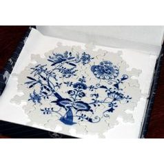 Blue Onion Puzzle 24 cm, 19 pieces, Original Blue Onion Pattern