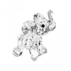 Elephant Calf (crystal) 52 x 37 mm, Crystal Gifts and Decoration  PRECIOSA