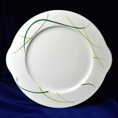 Cake plate with handles 27 cm, Thun 1794 Carlsbad porcelain