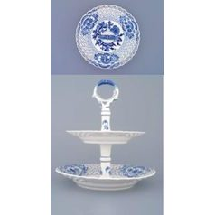 2-compartment dish 18 plus 24 cm, Original Blue Onion Pattern