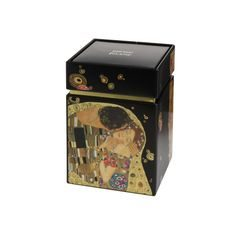 Box for storing tea, Metal, The Kiss, G. Klimt, Goebel