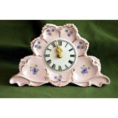 Fireplace clock 20 x 13 cm, Lenka 247p, Rose China