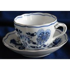 Cup and saucer B plus B 0,21 l / 14 cm for coffee, Cesky porcelan a.s.