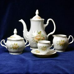 Mocca set for 6 pers., Thun 1794, Carlsbad porcelain, BERNADOTTE 023011