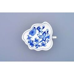 Sugar bowl leaf on stands 10,8 cm, Original Blue Onion Pattern