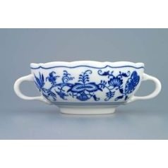 Creamsoup cup with handles 0,25 l, Original Blue Onion Pattern