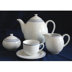 Coffee set for 6 persons, Thun 1794 Carlsbad porcelain, OPAL 80136