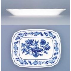 Butter dish - bottom 0,125 kg, Original Blue Onion Pattern