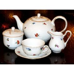 Tea set for 6 persons, Hazenka, Cesky porcelan a.s.