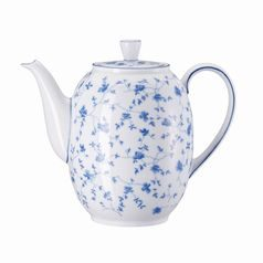 Coffee pot 1,45 l, FORM Sugar 1382 Blaublüten, Arzberg porcelain