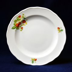 Plate dining 24 cm, strawberry, Cesky porcelan a.s.