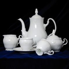 Frost no line: Coffee set for 6 pers., Thun 1794 Carlsbad porcelain, Bernadotte