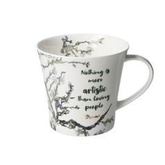 Artist Mug Nothing is more 0,35 l, Porcelain, V. van Gogh, Goebel Artis Orbis