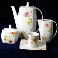 Coffee set for 6 pers., Thun 1794 Carlsbad porcelain, EYE 30308