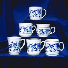 Zwibel Combo - 6 whatever Blue Onion pattern Mugs, Original Blue Onion Pattern