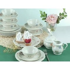 Tea set for 6 persons (20pcs), Marie-Luise 44714, Seltmann Porcelain